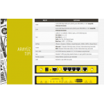 Four-Faith F3846 LTE&WCDMA ÇİFT SİM KARTLI WIFI ÖZELLİKLİ  4G ROUTER
